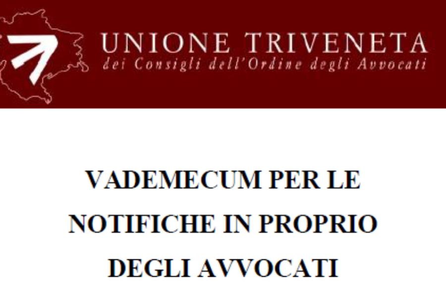 [SUPERATO] Vademecum per le notifiche in proprio degli avvocati (aggiornato al 1 luglio 2013)