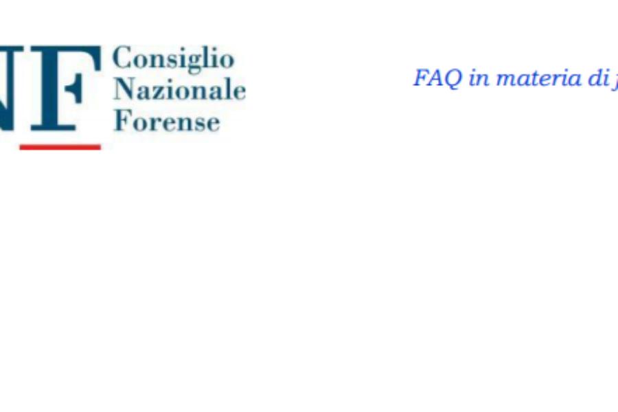 FAQ fatturazione elettronica – CNF